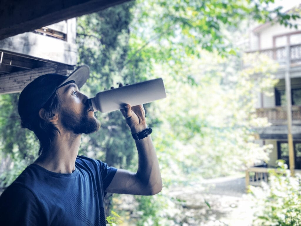 Hydration for running